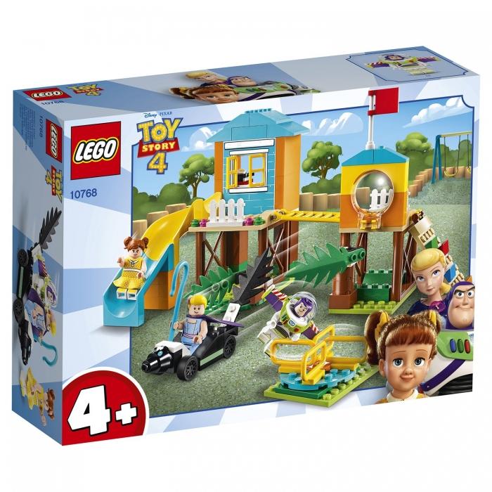 Конструктор LEGO 4+ Приключения Базза и Бо Пип на детской площадке
