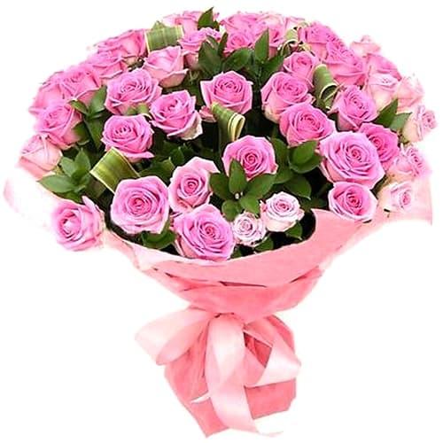 Букет Розовое настроение