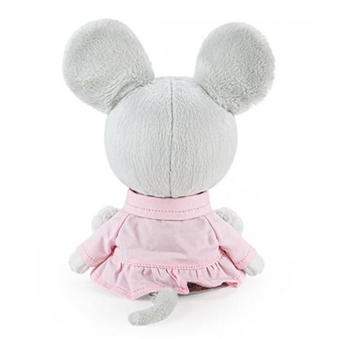 Мышка Пшоня в сером платье и курточке