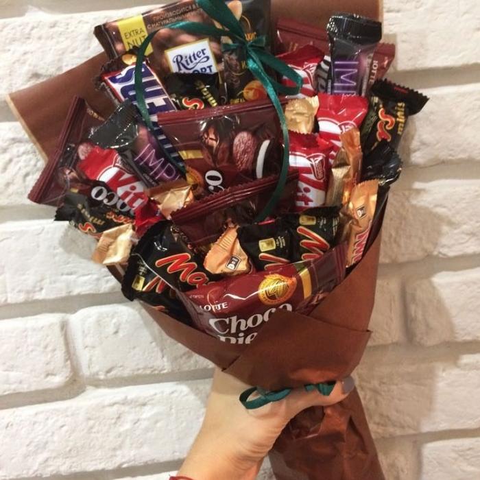 """Букет из сладостей """"Шоколадный"""""""