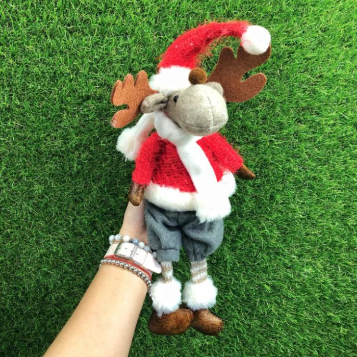 Мягкая игрушка - фигурка новогодняя Олень