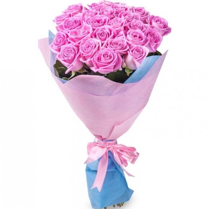 """Букет из 19 розовых роз """"Бриз"""""""