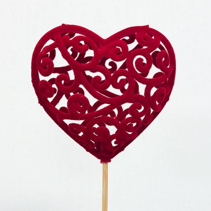 Топпер Красное Сердце