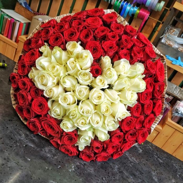 """Букет """"Влюбленный"""" (101 роза)"""