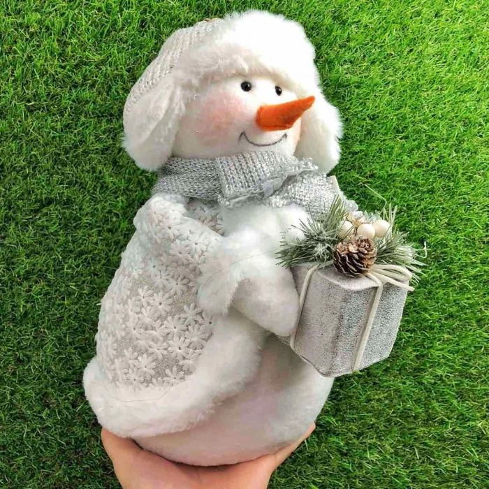 Новогодняя игрушка Снеговик