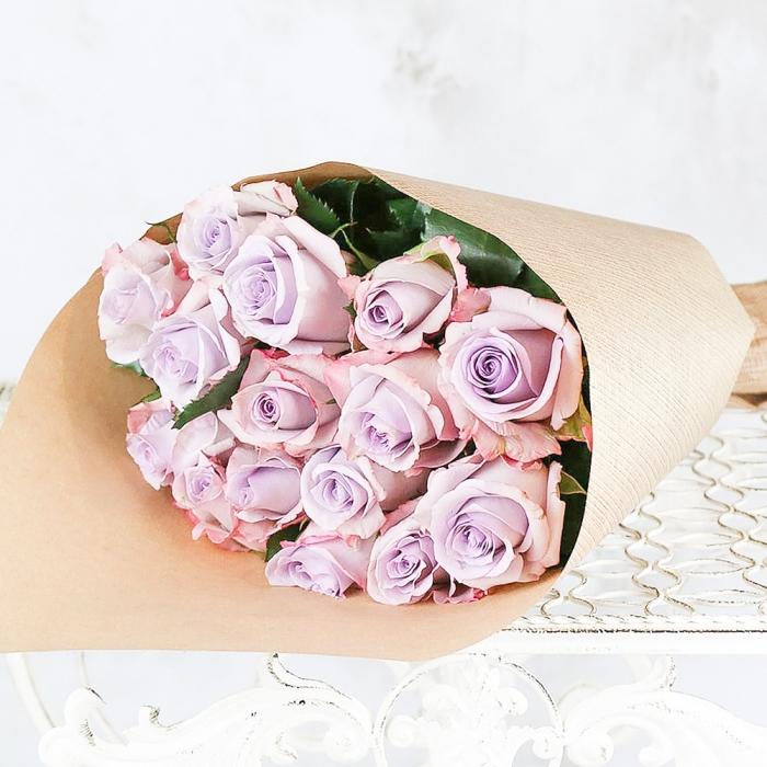 Букет Армандо из фиолетовых роз