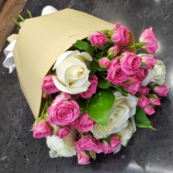 "Букет из роз ""Миледи"""
