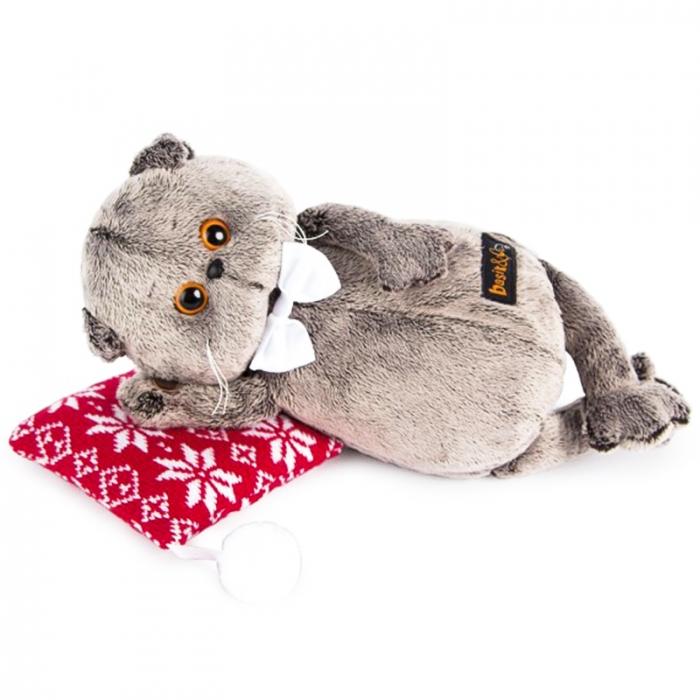 Кот Басик на подушке ( Предзаказ)
