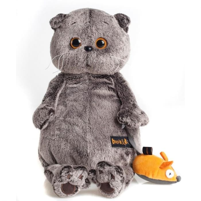 Кот Басик и мышка 22 см (Предзаказ)