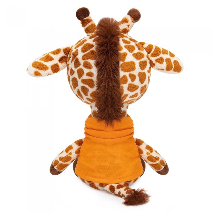 Жирафик Жан в оранжевой футболке
