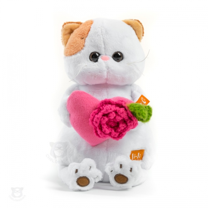 Кошечка Ли-Ли с розовым сердечком (предзаказ)