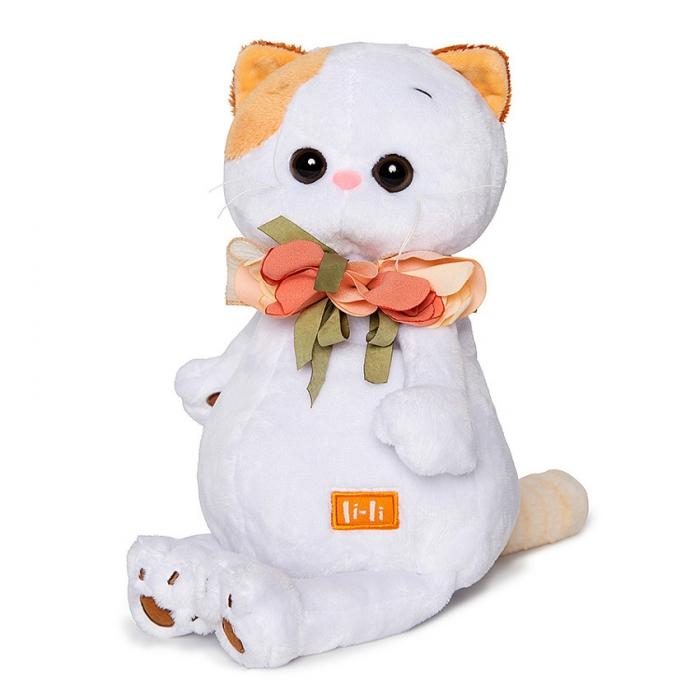 Кошечка ЛиЛи с цветами из шелка (предзаказ)
