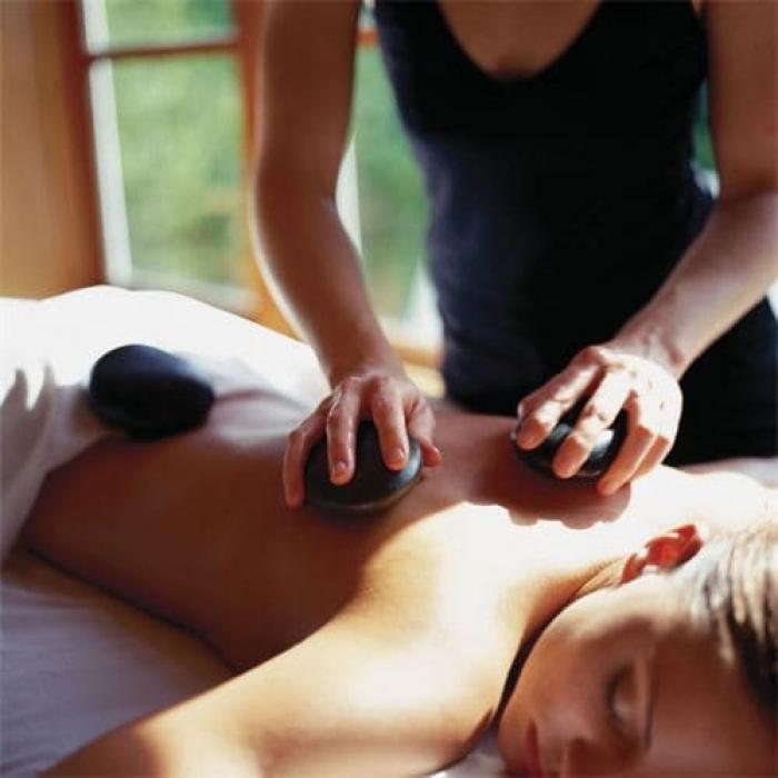 Моделирующий стоун массаж