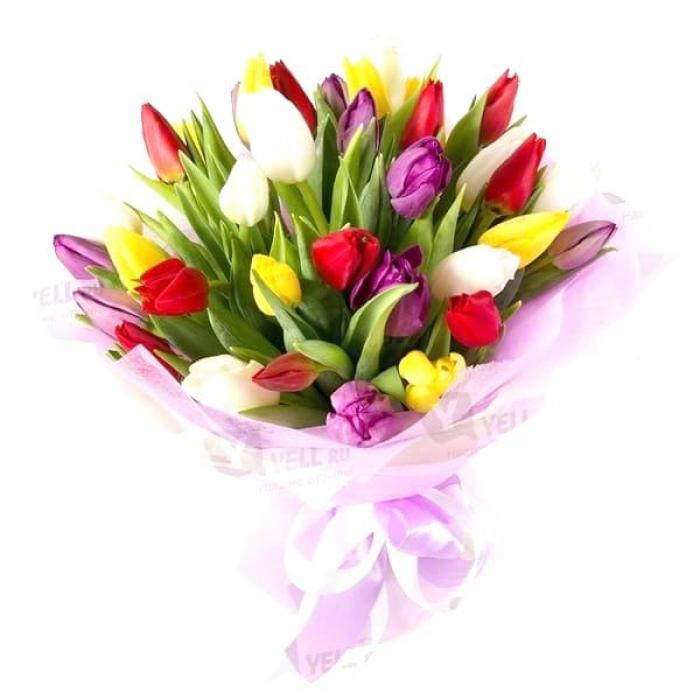 Букет любимых тюльпанов