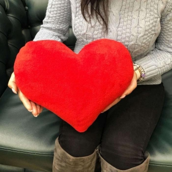 Подарочный набор «Весенний» рыжие тюльпаны +  сердце