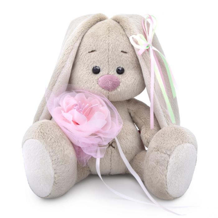 Зайка Ми с розовым цветком (малыш)