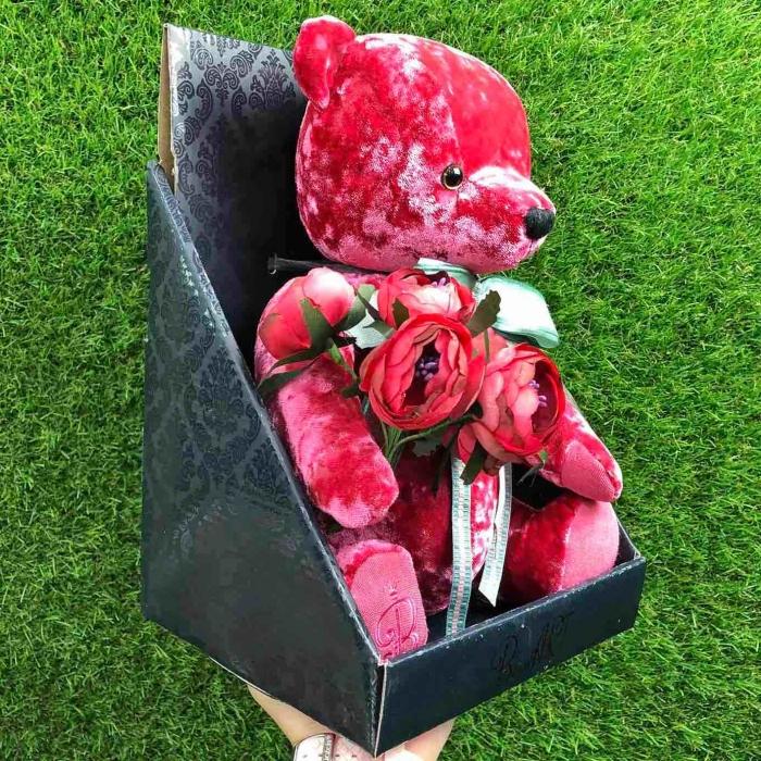 Медведь Берн-Арт розовый