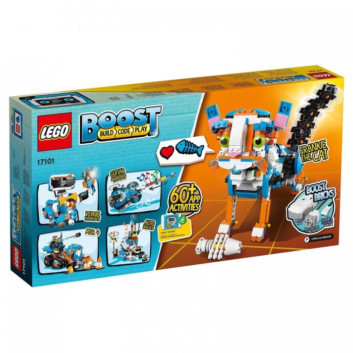 Конструктор LEGO BOOST Набор для конструирования и программирования