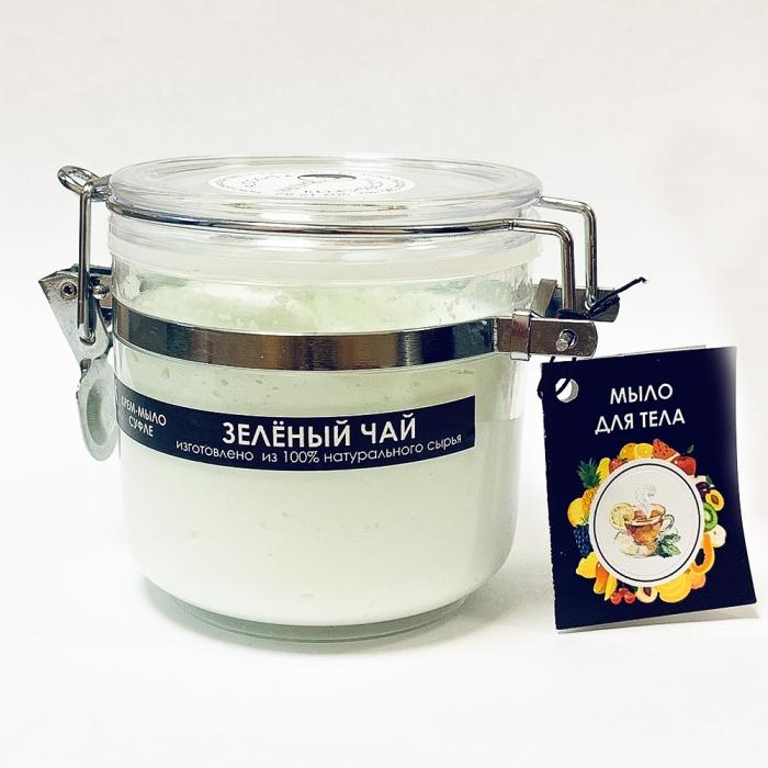 Крем-мыло суфле «Зеленый чай» 200 мл