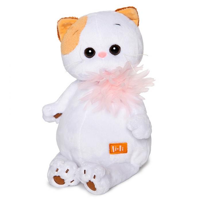 Кошечка Ли-Ли с розовой хризантемой (Предзаказ)