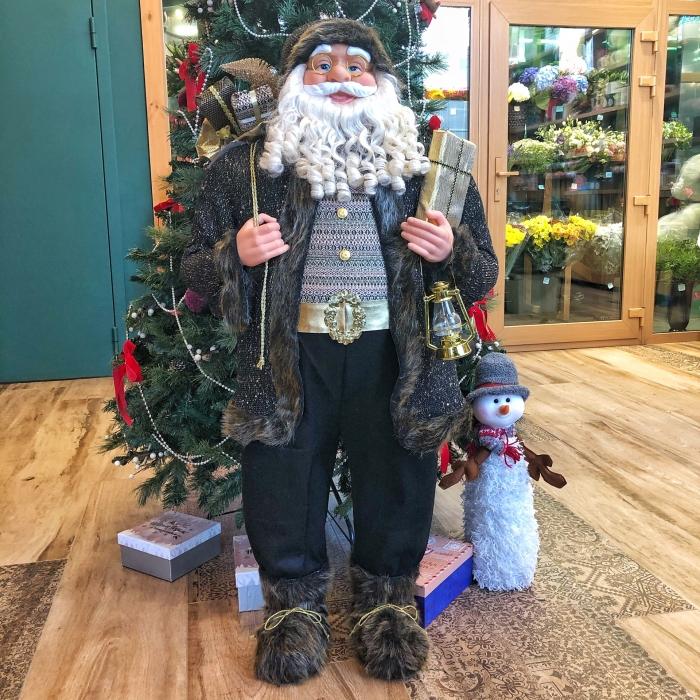 Новогодняя фигура Санта Клаус 1,4 м