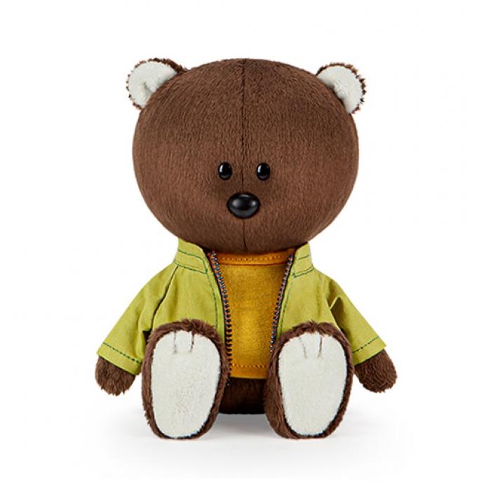 Медведь Федот в оранжевой майке и курточке