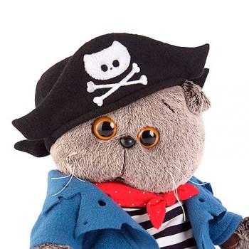Кот Басик Пират 22 см (Предзаказ)