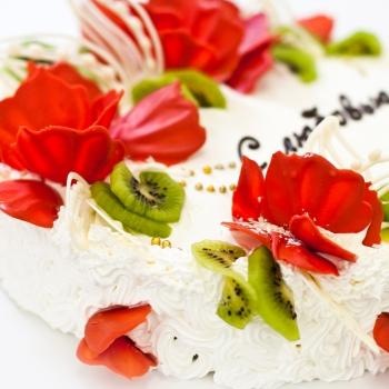 Торт «Красный букет» (Предзаказ 1 день)