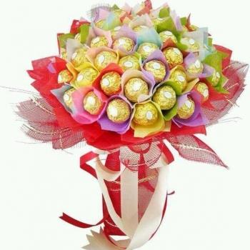 """Букет из конфет """"Золотое счастье"""" (Предзаказ)"""