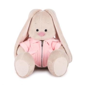 Зайка Ми в розовой меховой курточке 18 см  (Предзаказ)
