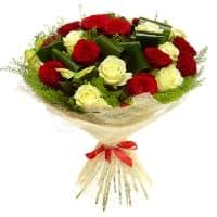 Букет От сердца из 21 розы