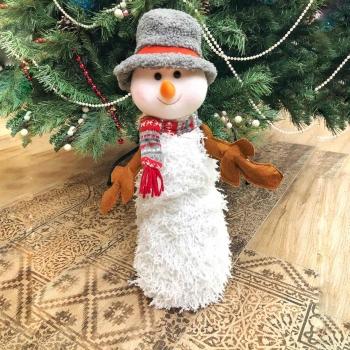"""Новогодняя игрушка """"Снеговик"""" 50 см"""