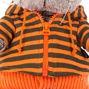 Кот Басик в штанах и полосатой кофте 22 см (Предзаказ)