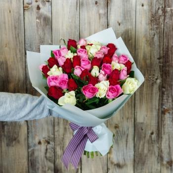 Букет из Кенийских роз