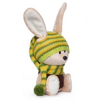 Заяц Антоша в шапочке и свитере