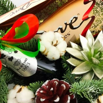 Новогодняя композиция Зимний сад