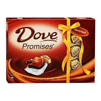 Шоколадный набор Dove Promises Молочный