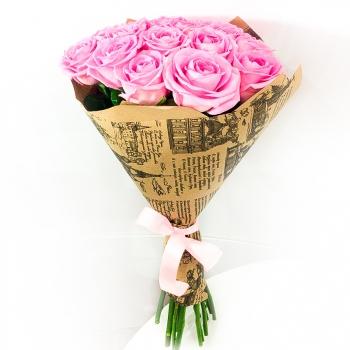 Акция! Букет Розовый восторг + доставка