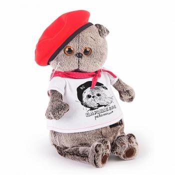 Кот Басик в футболке Плюшевая революция