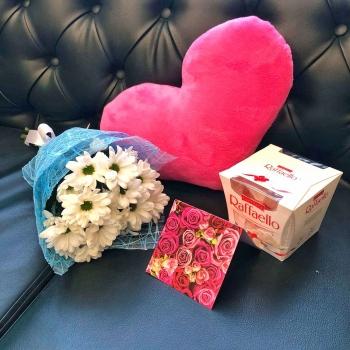 Подарочный набор «Маленькое счастье»+ розовое сердце