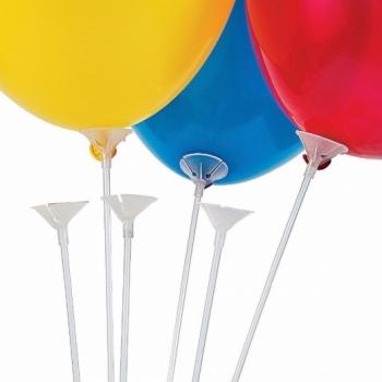 Воздушные шарики на палочке