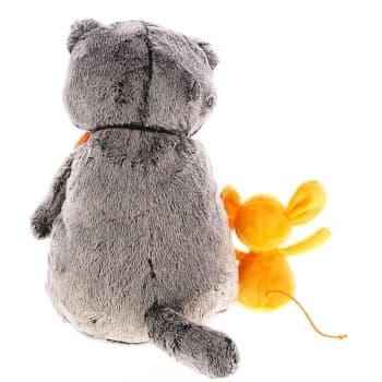 Кот Басик с мышкой Миленой 30 см (Предзаказ)
