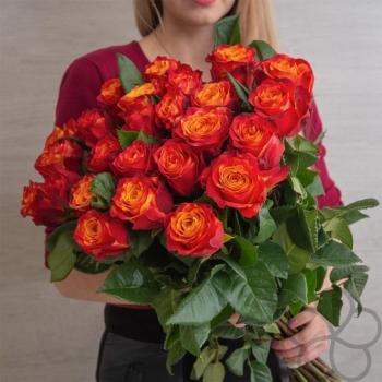 Букет из Эквадорских роз Атоми